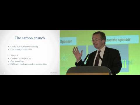 The new gas world and its implications for security and climate change - Dieter Helm