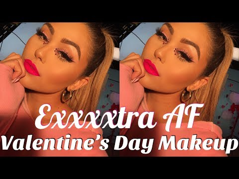 EXTRA AF Valentine's Day Makeup | Roxette Arisa thumbnail