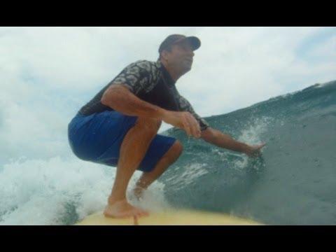 Surfing the Secret Beach, Japan