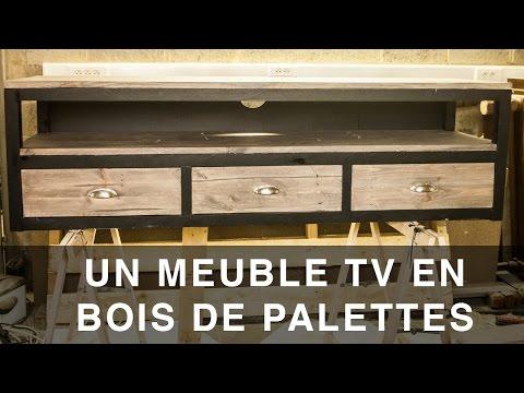 tuto creation d un meuble tele en