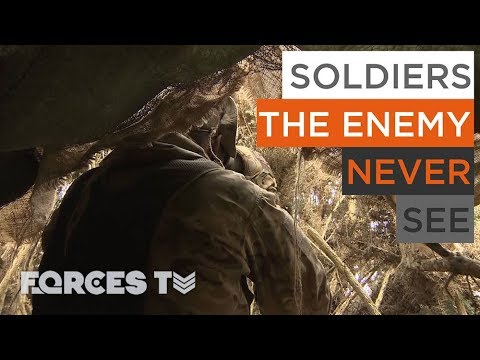 Meet The 'Special Observers': Soldiers The Enemy Never See | Forces TV