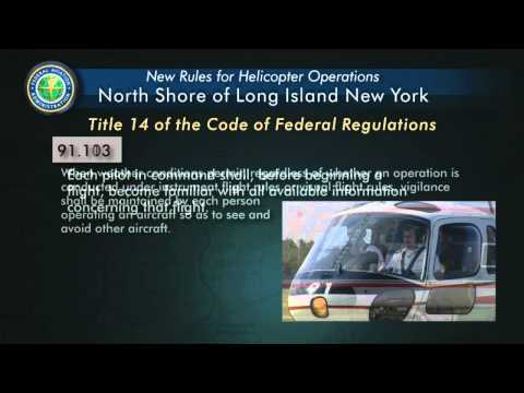 New York North Shore Helicopter Route Training