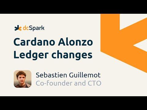 Cardano Alonzo Ledger changes explained