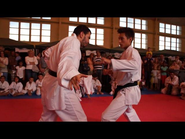 DEMO AKS Sportissimeaux - Abdel GHERRAM, Romain MEURANT et Gaëtan BASSUYAUX