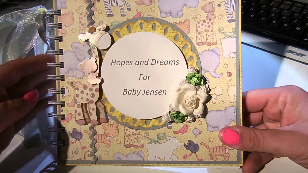 Baby shower guest book share youtube baby shower guest book share solutioingenieria Choice Image