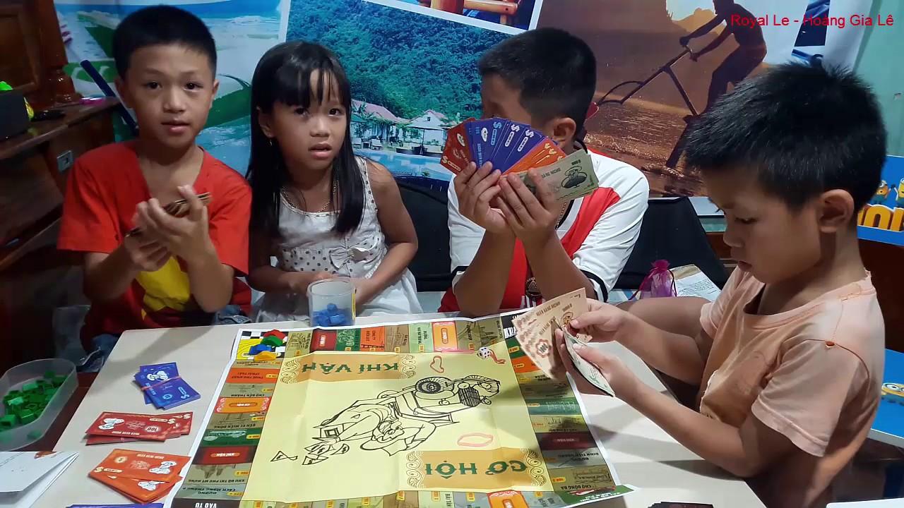 Bóc Và Chơi Cờ Tỷ Phú Tiếng Việt Thật Vui Nhộn – Play Billionaire Flag