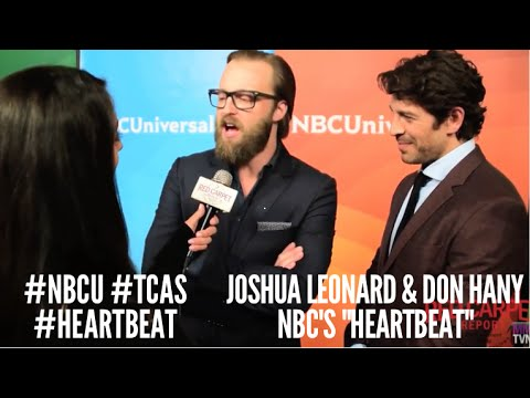 Joshua Leonard & Don Hany Heartbeat at NBCUniversal's Winter 2016 Press TCA Tour NBCU TCAs