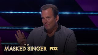 Will Arnett Has An Existential Crisis | Season 3 Ep. 9 | THE MASKED SINGER