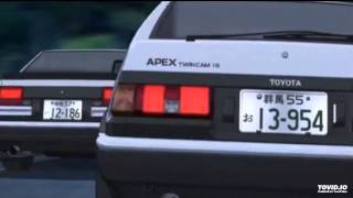 Initial d final stage ost eurobeat act 4/episode 4 adrenaline - ace created with http://tovid.io