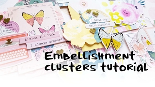 Embellishment Cluster Tutorial- Maggie Holmes Chasing Dreams & Pretty Little Studio