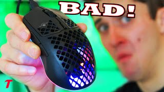SteelSeries Aerox 3 Wired is a Borderline SCAM! ($60 Mouse Review)