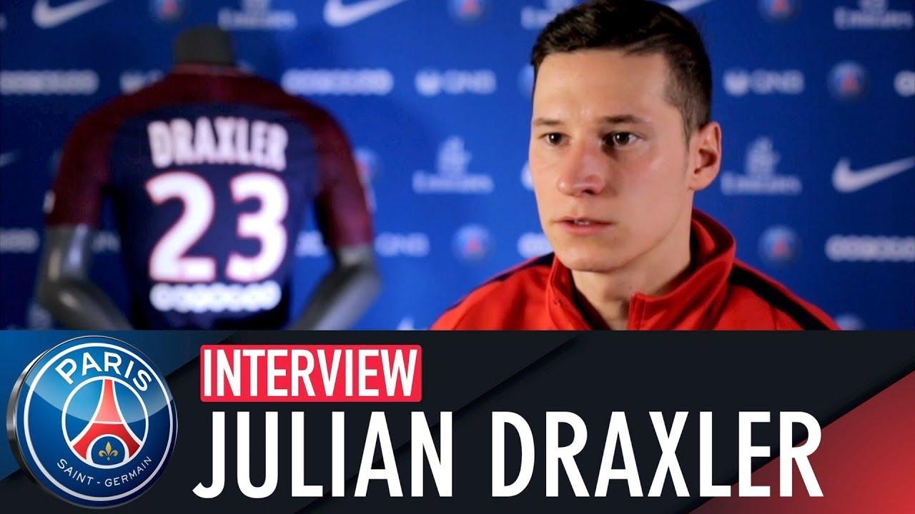 Julian Draxler Interview