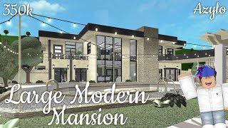 Roblox | Bloxburg: Modern Mansion (350k)