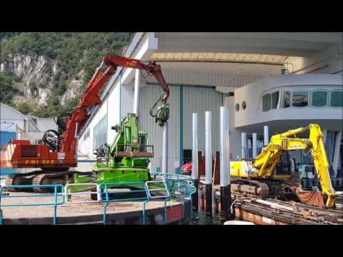 Ferretti Group Spa - Cantieri Riva Sarnico - Pali Vibroinfissi a lago
