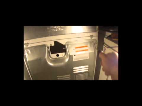 How To Take The Back Off On A Whirlpool Dryer Youtube