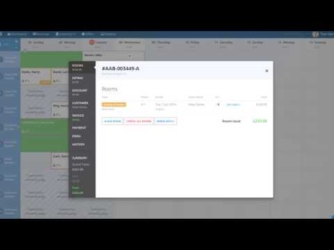 Hotel Management Software - The Booking Factory 60 Second Overview