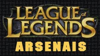 League of Legends - ARSENAL PERSONALIZADO, configure sua build antes de jogar