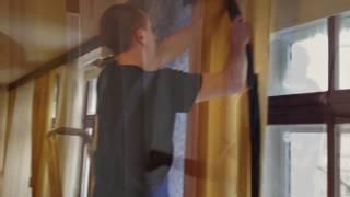 видео Сухая химчистка штор в Санкт-Петербурге