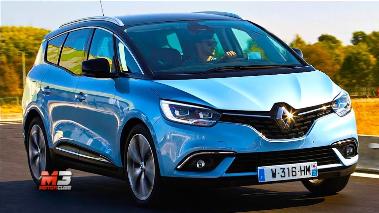 new renault grand scenic 2017 first test drive only sound youtube. Black Bedroom Furniture Sets. Home Design Ideas