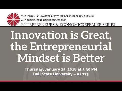 Innovation is Great, the Entrepreneurial Mindset is Better by M. Scott Lilly