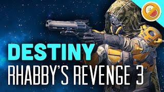 Destiny Rhabby's Revenge #3 | Hawkmoon Wager V.2 - The Dream Team (Funny Gaming Moments)