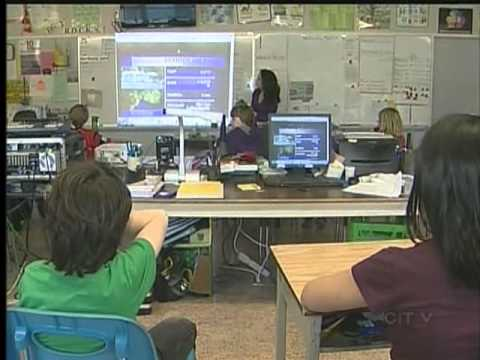 Weather School: Sangster Elementary School - March 14, 2012