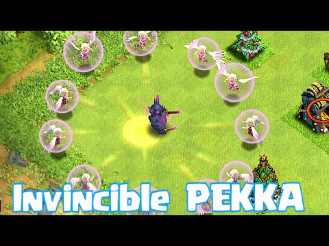 Clash Of Clans - INVINCIBLE PEKKA (Troll Wars 3!!!)