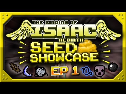 Binding Of Isaac: Rebirth - SEED SHOWCASE - Top Seeds! - Episode 1 - Daddy Long Legs, Monstro's Lung