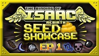 Binding Of Isaac: Rebirth - SEED SHOWCASE - Top Seeds! - Episode 1 - Daddy Long Legs, Monstro