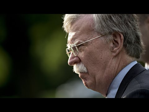 Bolton holds a news conference after meeting in Moscow