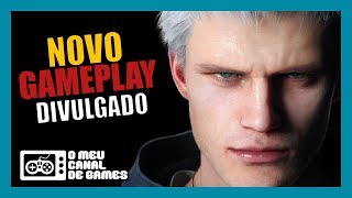 GAMEPLAY INÉDITO (TELA CHEIA), VERGIL, PERSONAGEM SECRETO, SEGREDOS E MAIS! [Devil May Cry 5]