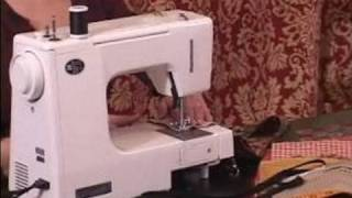 Ideas For Making A Tablecloth : Sewing Animal Pieces To Suede Pieces For Tablecloths