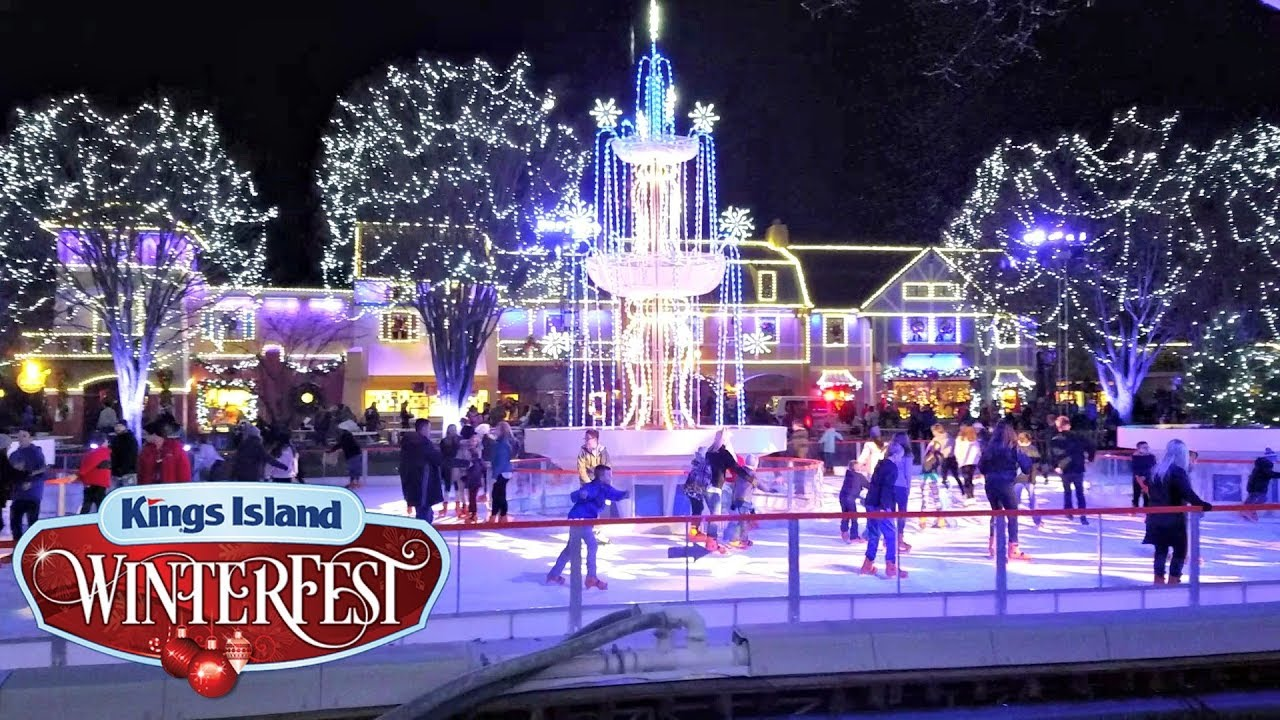 Kings Island WinterFest 2017 - YouTube