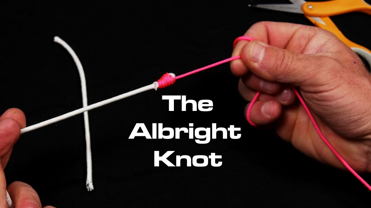 Braid To Fluorocarbon Albright Knot Saltwater Experience Youtube