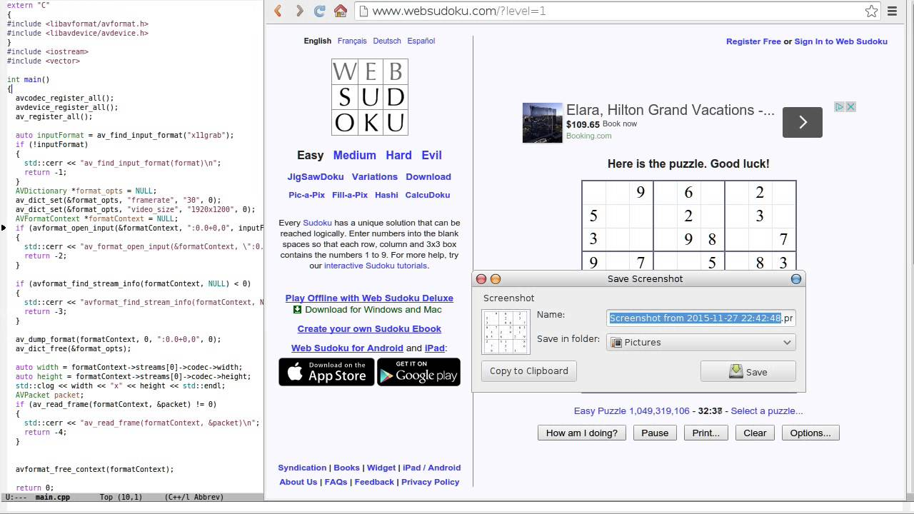 How to Write Fully Automatic Sudoku Solver in C++