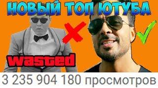 DESPACITO теперь самое популярное видео на ютубе! Рекордсмен по просмотрам уже НЕ GANGNAM STYLE(
