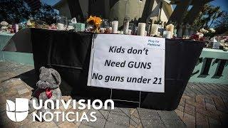 """""""Es ridículo y tiene que cambiar ahora"""": jóvenes sobrevivientes contra las armas"""
