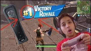 What Happens if You Play Fortnite With a Wii Mote?????