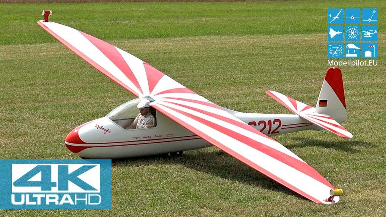 Radio Controlled And Gliding Over >> Lo 100 50 1 2 Rc Classic Glider Patrick Georg Aerobatic Flight Dg