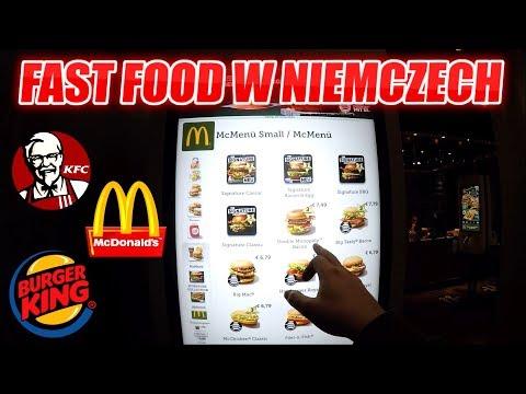MCDONALD'S, KFC, BURGER KING W NIEMCZECH - JAK SMAKUJĄ?