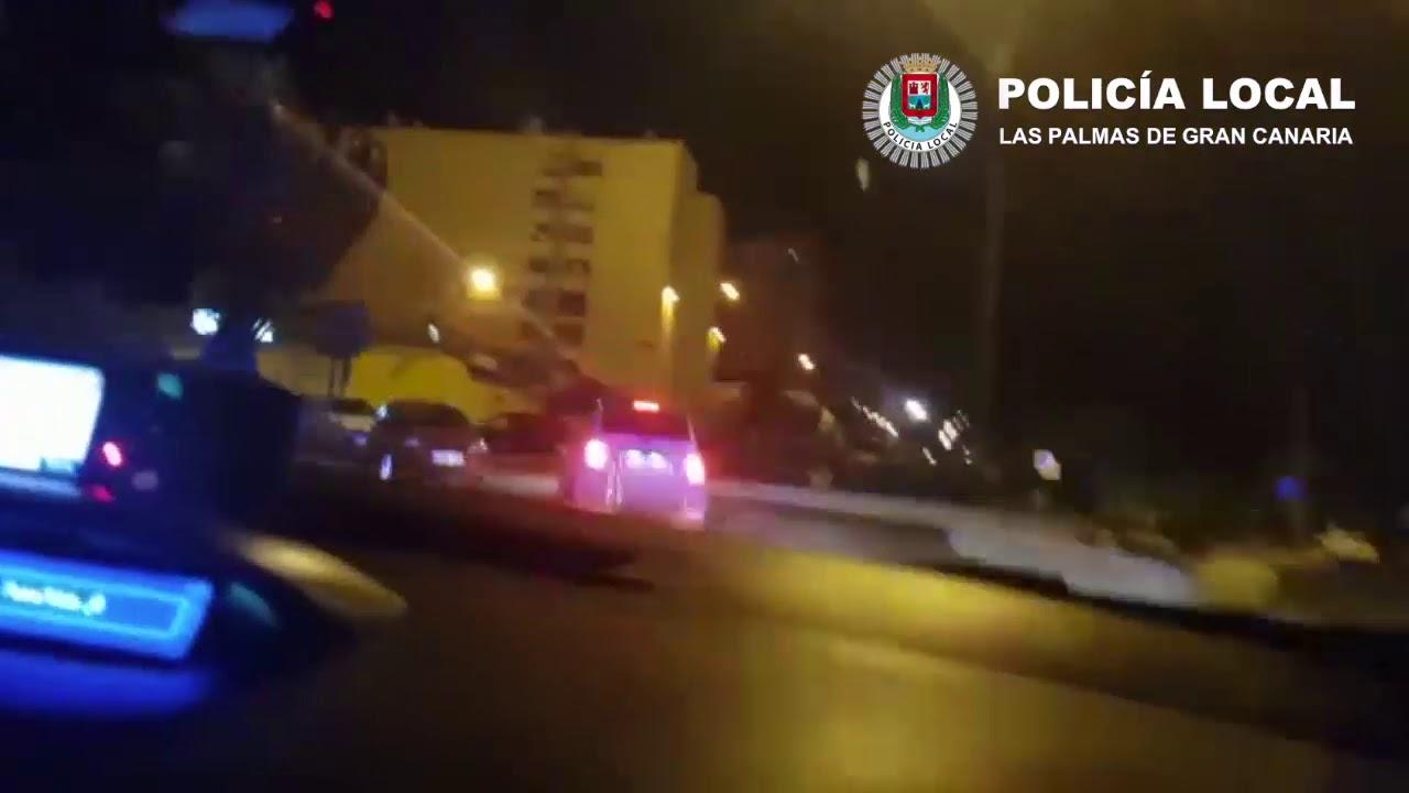 Persecución en Gran Canaria por la Policía Local