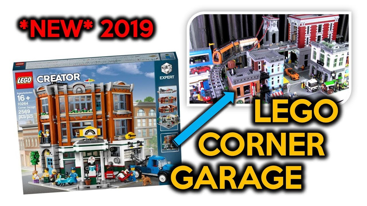 ideas for the lego corner garage 2019 expert modular. Black Bedroom Furniture Sets. Home Design Ideas