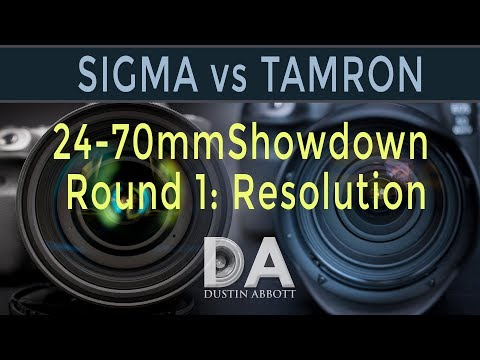 Tamron G2 vs Sigma ART: 24-70mm Shootout Round 1: Resolution