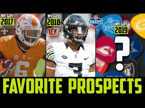 2019 NFL Draft SLEEPERS My GuysFavorite Players of The 2019 NFL Draft