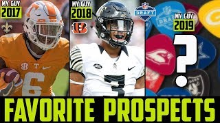 2019 NFL Draft SLEEPERS (My Guys/Favorite Players of The 2019 NFL Draft