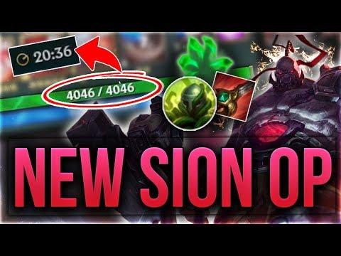 4000HP in 20min? Preseason Sion ist OP! [League of Legends] [Deutsch / German]