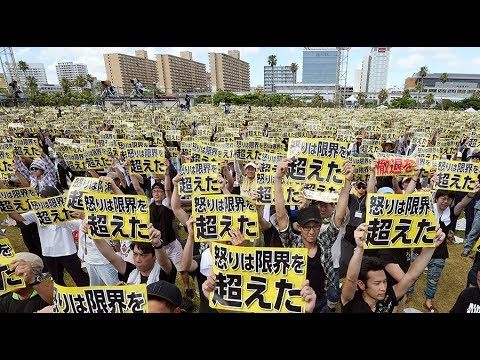 Okinawa gov't sues Japan over US Marines base