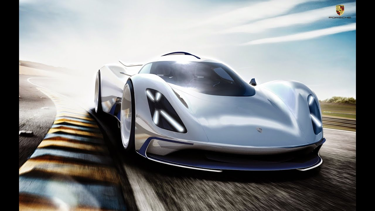 Electric Porsche Le Mans Prototype Rendered Youtube