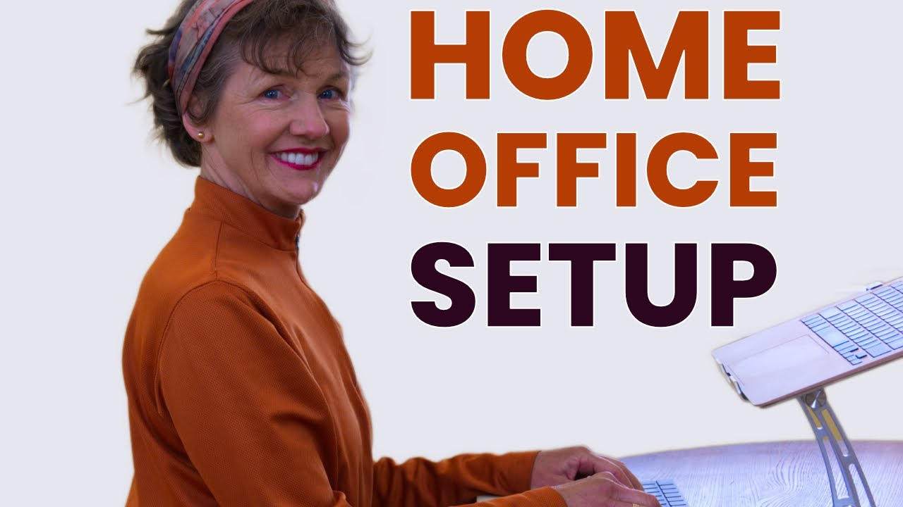 Set Up Your Home Office and Reduce Back, Neck and Shoulder Pain