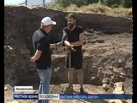 Археологи обнаружили в Танаисе необычное захоронение